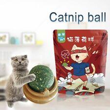 Catnip Ball Toys Edible Catnip Ball Safety Healthy Cats Cleaning Teeth Catnip