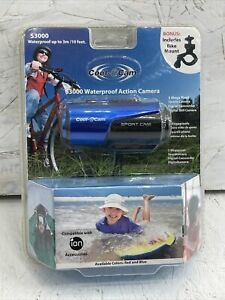 Cool-iCam S3000 Sport Cam Waterproof Action Camera with Bike Mount NEW