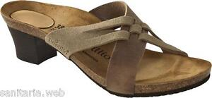 PAPILLIO BIRKENSTOCK BETTY TAUPE/TABACCO CIABATTE DONNA TACCO WEDGE WOMAN SANDAL