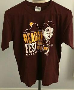 2010 Reagan Fest Trail Run Kid's T-Shirt - L