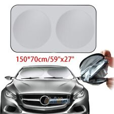 Car Window Sun Shade Foldable Windshield Full Shield Visor Block Cover 150*70cm