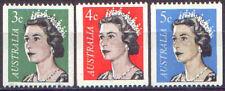 Australia 1966-7 QEII COILS (3) Unhinged Mint SG 404-5a