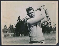 "1935 Henry Picard, ""Winner at Agua Caliente"" Horizontal Swing Photo"
