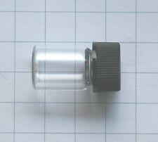 EMPTY spare GLASS vial to store gallium, bromium, cesium, thorium or uranium