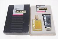 Vintage Monsieur Houbigant Musk 1 oz. Mens Cologne Splash