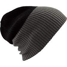 Burton Men's Factory Beanie Ski Snow Hat True Black Grey - New with tags!