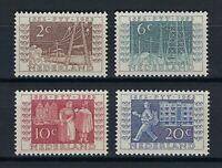 NETHERLANDS 1952 EXPOSITION PHILATELIC OF UTRECHT ITEP SET Nº 578/581 ** MNH