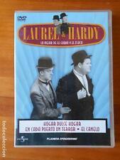 DVD HOGAR DULCE HOGAR -EN CADA PUERTO UN TERROR -EL CANELO - LAUREL & HARDY (T6)