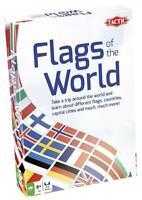 Tactic Flags Of The World Educational Strategy Family Children Fun Card Game