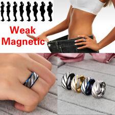 Anillo de pérdida de peso Cuerda de mano de salud Terapia magnética Talla 6-13