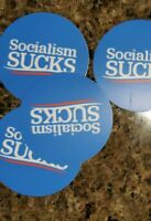 Socialism SUCKS mini 2 Inch Stickers Bernie Sanders Democratic Socialism  2020