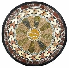 Marble Coffee Table Top Inlay multi stones Marquetry Work