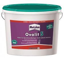 8x  Metylan Ovalit S Spezialwandbelagsklebe12kg - für schwerste Wandbeläge-