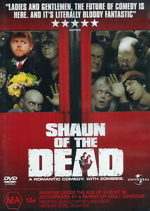 Shaun Of The Dead - Comedy / Romantic / Horror / Zombies - Simon Pegg - NEW DVD