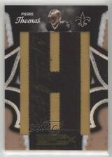 2010 Panini Epix New Orleans Saints Who Dat Lettermen /240 Pierre Thomas #3 Auto