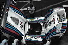Fotografía 9x6, Heyer/Patrese/Ghinzani, Martini-LANCIA LC1, Lemans 24hrs 1982