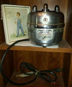 Vintage Hamilton Beach Model 902 Commercial Bar Mixer Blender Base tested rare