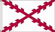 Spain Spanish Cross Flag Banner 5x8 foot 5ft x 8ft 150D SuperPoly