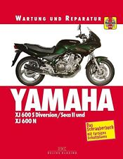 Reparaturanleitung Yamaha XJ600 S & N  1992, 93, 94, 95, 96, 97, 98 & 99