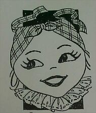 Vintage Apron Pattern Black Americana Mammy Skirt Apron Craft Sewing Applique