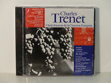 CD ALBUM Chefs d oeuvre de la chanson francaise CHARLES TRENET cf 005  NEUF