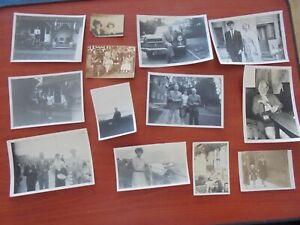 Job Lot of Vintage Black & White Photographs (cf1)