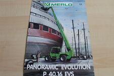 127593) merlo panoramic Evolution p 40.16 EVs folleto 02/1999