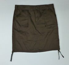 Billabong Skirt Womens Size 9 Brown Khaki Skirt Excellent Condition
