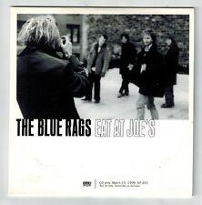 The Blue Rags Eat At Joe's PROMO CD Sub Pop Rare