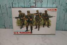 1/35 SCALE U.S. RANGERS by DML #3004 Sealed Plastic Soldiers