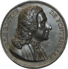O5953 Rare Médaille Uniface Bouyer de Fontenelle Baron Desnoyers SUP