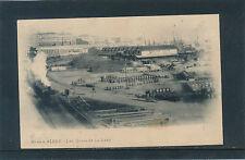 Postcard from Alger, Les Quaie et la gare, Bahnhof, Train, , Algerien   11/4/15