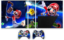 Mario 906 Vinyl Decal Skin Sticker for Xbox360 Slim E and 2 controller skins