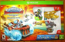 SKYLANDERS SUPERCHARGERS XBOX ONE STARTER PACK GOLD HOT STREAK VEHICLE VARIANT