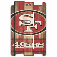 San Francisco 49 ers Defense Holzschild 43 cm NFL Football Fence Sign