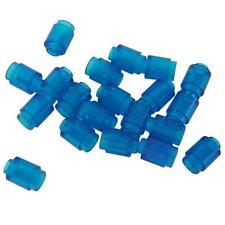LEGO 3062b-Brick 1x1 With Open stud-trans-bleu clair x 4 pièces