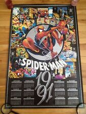 spiderman 1991 todd mcfarlane calendar poster