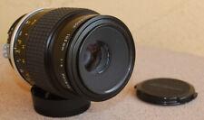 Nikon Micro Nikkor 105mm F4 AI Lens close up macro using digital or film