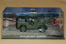 James Bond 007 Modellauto Collection 46 - Willys Jeep M606 - Octopussy