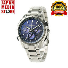 Seiko BRIGHTZ SAGA191 SAGA 191 Chronograph Atomic Solar Watch 100% GENUINE JAPAN