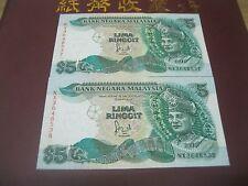RM5 Jaafar sign 6th series - NX 3648537 - 38 (UNC)