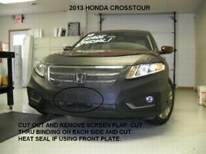 Lebra Front End Mask Cover Bra Fits Honda Crosstour 2013 2014 2015 13 14 15