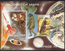 Yemen 1970 Mars/Space/Dinosaur/Planets/Rocket m/s b8852