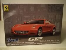 Ferrari 612 Scaglietti Luxury Sports Coupe 1/24th scale model kit