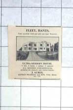 1936 Ultramodern House Fleet, Hampshire, Six Bedrooms 2 Acres For Sale
