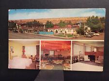 Rimrock Lodge Billings Motor Hotel Montana Yellowstone Co Vtg Postcard Post 1963