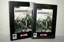 COMMANDOS 3 DESINATION BERLIN GIOCO USATO PC CD ROM VERSIONE ITALIANA MT2 50428