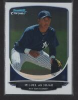 MIGUEL ANDUJAR 1st 2013 Bowman Chrome Prospects FULL SIZE Rookie RC QUANTITY AVL