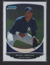 MIGUEL ANDUJAR 2013 Bowman Chrome FULL SIZE #BCP160 Yankees Rookie Card RC QTY