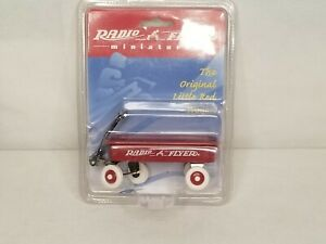 Radio Flyer Wagon Miniature #1 1997 New In Package V1